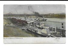 CINCINNATI OHIO EXPLOSION AND BURNING OF THE OHIO RIVER STEAMER MAGNOLIA RESCUE