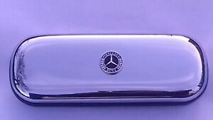 Mercedes  car brand new chrome glasses case great gift!!Birthday Christmas