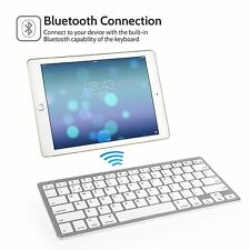 LATEST Slim Wireless Bluetooth Keyboard For iMac iPad Android Phone Tablet PC