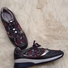 Women's Skechers Wedge Fit Vita Vivere Fashion Sneaker Black/Multi Shoes Sz 7.5