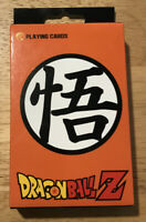 Dragon Ball Z Playing Cards NEW