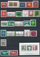 Allemagne - RFA Lot 24 TP + 1 bloc Neuf** (MNH) 1969 - 70 (lot VI)