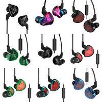 Headphones 10Driver In Ear Earphone Dynamic Earbuds Sport Headset Wired Bass Lot