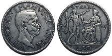 20 Lire 1927 Littore BB