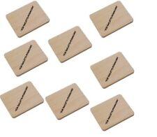 8 x Raclettebrettchen Buche Brettchen L 10 cm mit Aufdruck Raclette