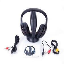 8 в 1 Беспроводные наушники стерео гарнитура для Fm радио Mp3 плеер Tv Cd/DVD Pc Ca