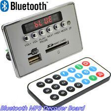 Bluetooth Wireless Car Vehicle Digital LED MP3 Decoder Board USB SD TF FM Radio
