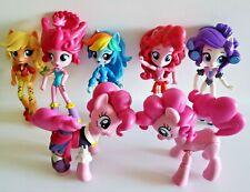 "My Little Pony Equestria Girls Rainbow Dash Mixed Lot Mini Dolls 4.5"" Pinkie Toy"