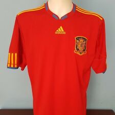 Authentic Spain 2010 - 2011 Home Shirt Size XL World Cup 2018 adidas