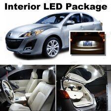 For Mazda 3 2014-2016 Xenon White LED Interior kit + White License Light LED