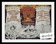 FLEETWOOD MAC CONCERT HANDBILL 1971 1ST PRINTING FILLMORE STEPPENWOLF MEDIEVAL