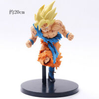 Anime Dragon Ball Z Super Saiyan Goku PVC Action Figure Figurine Toy Gift 20CM