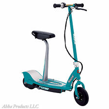 Teal Electric Battery Powered Razor Scooter E200S Kids Moped Rider Seat Brake