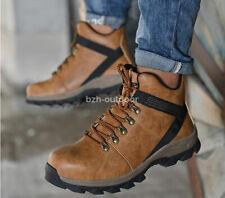Men's Steel Toe Super Light Safety Shoes Anti Puncture & Splash Work Boots