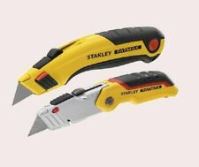 STANLEY FatMax Retractable Knife Twin Pack plus Spare Baldes- FREE POSTAGE