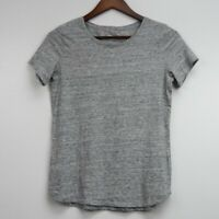 Old Navy Everywear Women's Short Sleeve T-Shirt Top Tee Gray Crew Neck Size XS