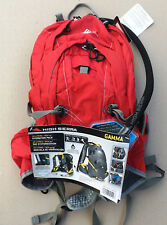 High Sierra Gamma 14L Hydration Hiking Cycling Backpack 2L Reservoir Bags Red