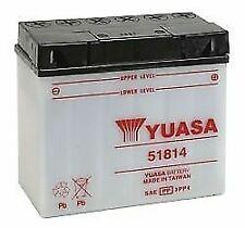 Yuasa 51814 BMW K75C '85-'95 High Performance Conventional YuMicron 12v Battery