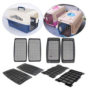 2Pcs Airline Pet Puppy Plastic Crate Mat for Cat Dog Rabbit Transporter Carrier