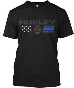 Hurley Family Police Classic T-Shirt - 100% Cotton By One Nation Design