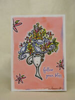 SOBRIETY GREETING CARD - FOLLOW YOUR BLISS