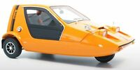 DNA COLLECTIBLES 000003 BOND BUG 700ES Micro car resin model 3 wheel orange 1:18