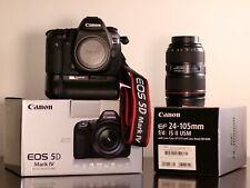 Canon 5D Mark IV w/ Canon f/4L 24-105mm IS II USM lens, 2 YEAR PROTECTION + MORE