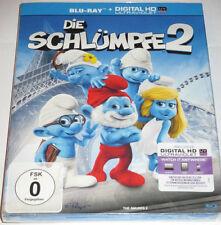 Die Schlümpfe 2 - Blu-ray/NEU/OVP/Animation/Sony/Schuber