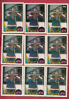 9 X 1987-88 OPC/TOPPS # 149 JETS DALE HAWERCHUK   CARD