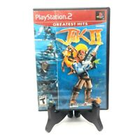Jak II PS2 Greatest Hits Playstation 2 CIB Complete with Manual