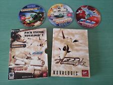 PACK EXITOS NOVALOGIC 2 - JUEGO PARA PC 3 X CD-ROM COMANCHE 4 F22 ARMORED FIST 3