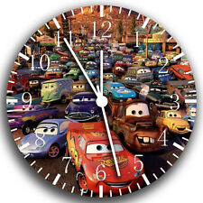 "Disney Cars wall Clock 10"" will be nice Gift and Room wall Decor W175"