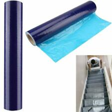CARPET PROTECTION PROTECTOR FILM SELF ADHESIVE ROLL Micron Thick 500mm x 20m