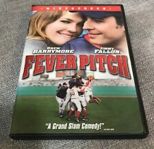 Fever Pitch DVD Drew Barrymore Jimmy Fallon Free First Class Shipping