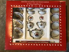 Mary Engelbreit Neiman Marcus Child Tea Set 17-Piece Playful Cat Complete Set!