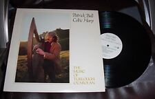 PATRICK BALL Celtic Harp 1983 Fortuna LP NM Music of Turlough O'Carolan insert