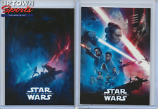 2019 RISE OF SKYWALKER POSTER CARDS 1 AND 2