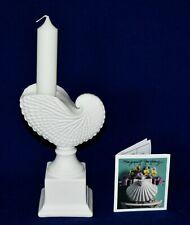 Margaret Furlong Paper Nautilus Candle Holder w/4 Northern Lights Candles Nib