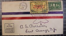 Patricia Airways - CL43 With Scott 146  - 10 Apr 1928 - Addressed To AC Roessler
