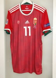 Match worn shirt Hungary national team Nations league vs Greece Sallai Germany