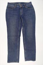 J. Jill Womens Slim Leg Blue Jeans Pants Size 2 Petite Stretch Straight Denim