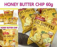 Honey Butter Chip 60g*3 bags Honey-Flavored Korean Potato chip-10 days shipping