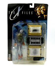 The X-Files Fight The Future - Fireman with Cryolitter Chamber Action Figure Set