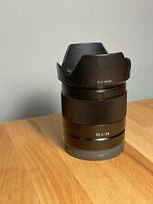 Sony SEL 28mm F/2 FE Lens