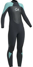 GUL LADIES 5MM RESPONSE WETSUIT 5/3MM BLACK PISTACHIO SURFING SAILING SIZE 14