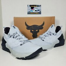 Under Armour Men's Project Rock 3 Training Shoes Grey (Size 10) 3023004-100