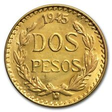 MEXIQUE 2 Pesos Or 1945