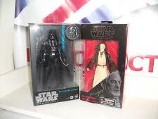 "Star Wars Obi Wan Kenobi & Vader Black Series 6"" Inch Brand New JOB LOT BUNDLE"