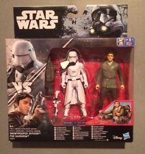 "2016 - Star Wars Rogue One Poe Dameron & Snow Trooper Officer 3.75"" ⭐️BNIB⭐️"