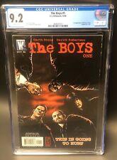 The Boys #1 - CGC 9.2- DC/ Wildstorm - 1st - Butcher/ Hughie/  Terror/  A-Train
